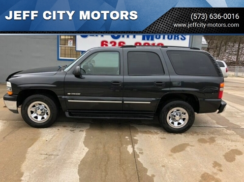 2003 Chevrolet Tahoe for sale at JEFF CITY MOTORS in Holts Summit MO