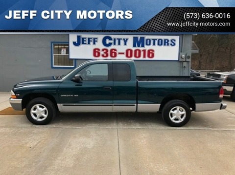 1997 Dodge Dakota for sale at JEFF CITY MOTORS in Holts Summit MO