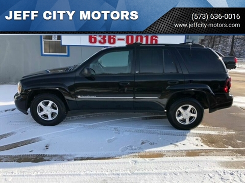 2002 Chevrolet TrailBlazer for sale at JEFF CITY MOTORS in Holts Summit MO