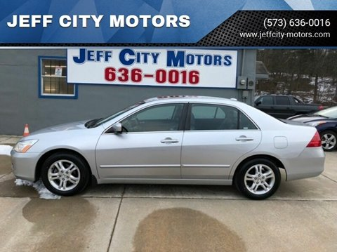2007 Honda Accord for sale at JEFF CITY MOTORS in Holts Summit MO