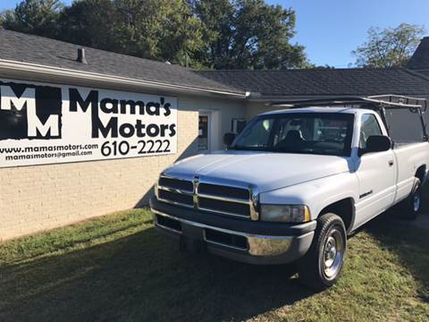 2001 Dodge Ram Pickup 1500 for sale at Mama's Motors in Greer SC