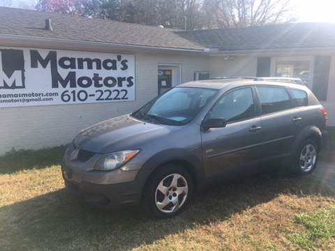 2003 Pontiac Vibe for sale at Mama's Motors in Greer SC