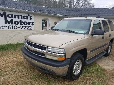 2005 Chevrolet Tahoe for sale at Mama's Motors in Greer SC