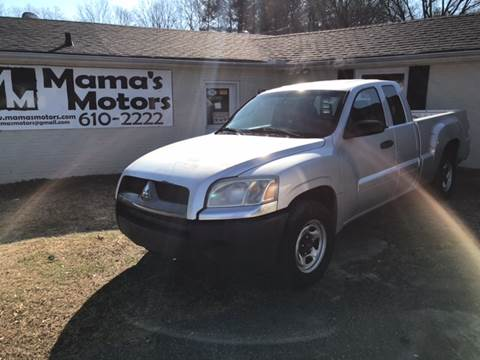 2006 Mitsubishi Raider for sale at Mama's Motors in Greer SC