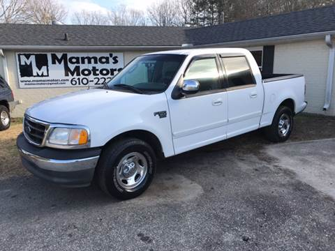 2002 Ford F-150 for sale at Mama's Motors in Greer SC