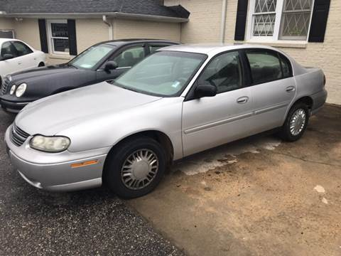 2001 Chevrolet Malibu for sale at Mama's Motors in Greer SC