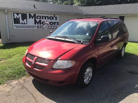 2003 Dodge Grand Caravan for sale at Mama's Motors in Greer SC
