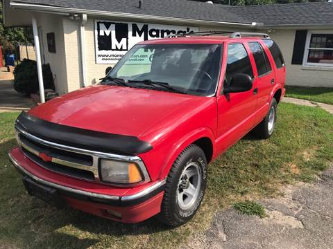 chevrolet blazer for sale in greer sc mama s motors mama s motors