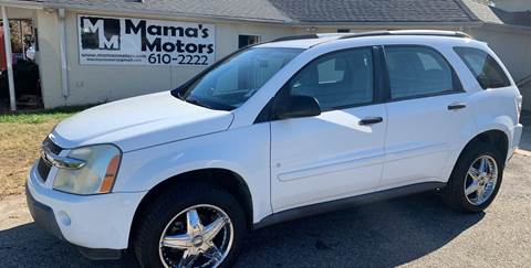 Chevrolet Equinox For Sale In Greenville Sc Mama S Motors