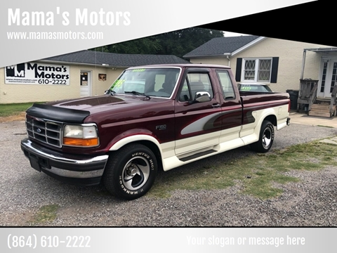 1996 Ford F-150 for sale in Greenville, SC