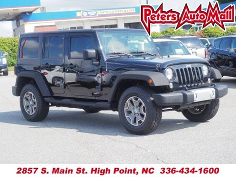 2014 Jeep Wrangler Unlimited for sale in High Point, NC