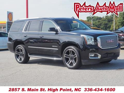 2016 GMC Yukon for sale in High Point, NC
