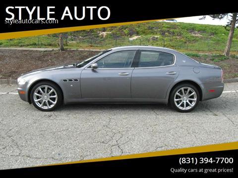 2006 Maserati Quattroporte Special $19,900