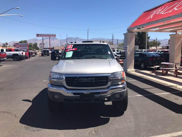 2005 GMC Sierra 1500 4dr Crew Cab SLE 4WD SB - Tucson AZ
