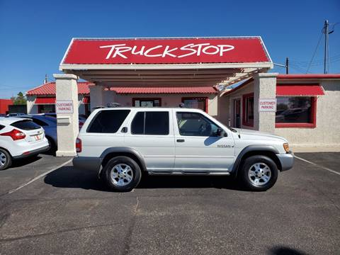 2001 Nissan Pathfinder for sale at TRUCK STOP INC in Tucson AZ