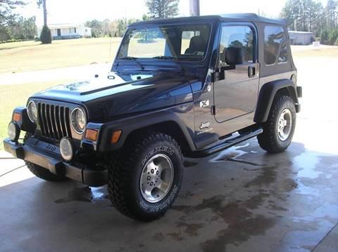 2005 jeep wrangler for sale in georgia for Imperial motors valdosta ga