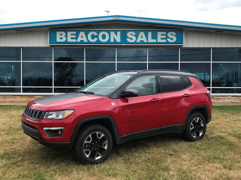 2018 Jeep Compass for sale at BEACON SALES & SERVICE in Charlotte MI