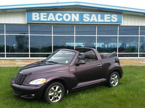 2005 Chrysler PT Cruiser Touring for sale at BEACON SALES & SERVICE in Charlotte MI