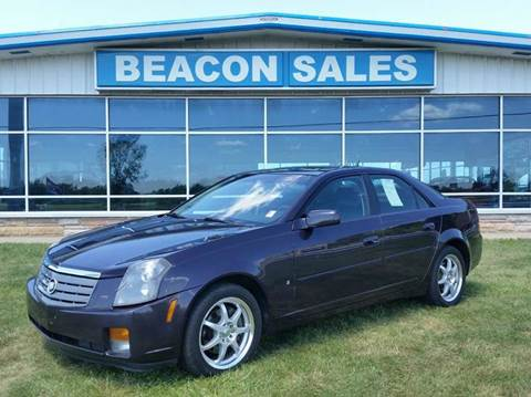 2006 Cadillac CTS for sale at BEACON SALES & SERVICE in Charlotte MI