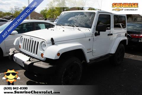2012 Jeep Wrangler for sale in Glendale Heights, IL