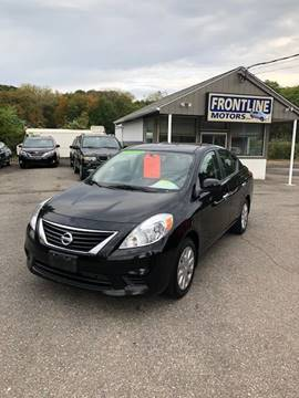 2012 Nissan Versa for sale in Chicopee, MA