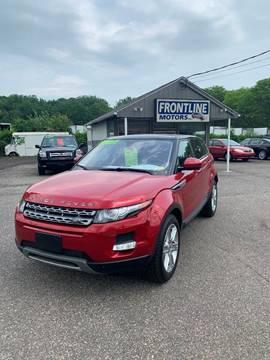 2014 Land Rover Range Rover Evoque for sale in Chicopee, MA