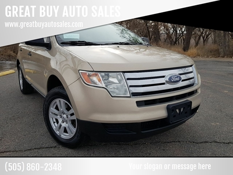 2007 Ford Edge for sale at GREAT BUY AUTO SALES in Farmington NM