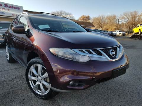 2013 Nissan Murano for sale at GREAT BUY AUTO SALES in Farmington NM