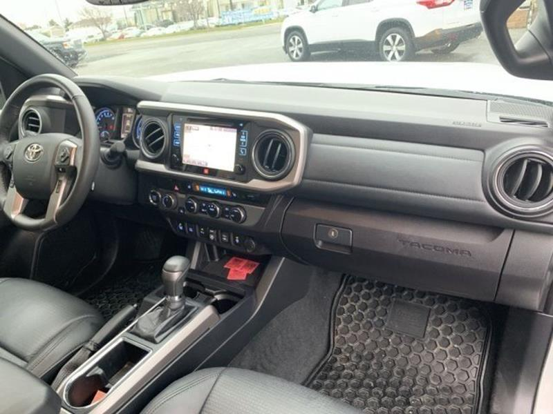 2018 Toyota Tacoma 4x4 Limited 4dr Double Cab 5 0 ft SB In