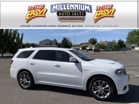 2020 Dodge Durango for sale at Millennium Auto Sales in Kennewick WA