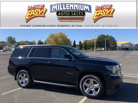 2016 Chevrolet Tahoe for sale at Millennium Auto Sales in Kennewick WA