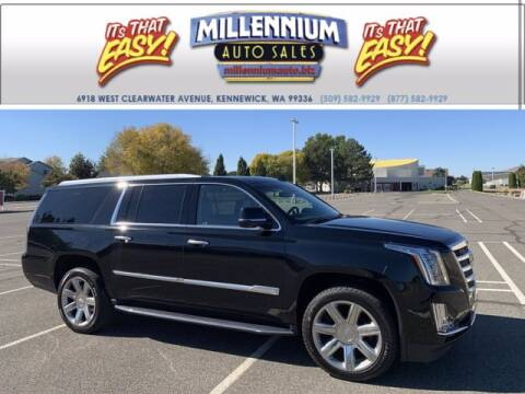 2020 Cadillac Escalade ESV for sale at Millennium Auto Sales in Kennewick WA