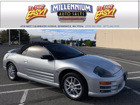 2001 Mitsubishi Eclipse Spyder for sale at Millennium Auto Sales in Kennewick WA