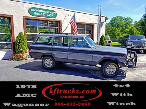 1978 Jeep Grand Wagoneer for sale in Landrum, SC