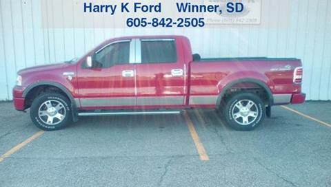 2007 Ford F-150 for sale in Oacoma, SD
