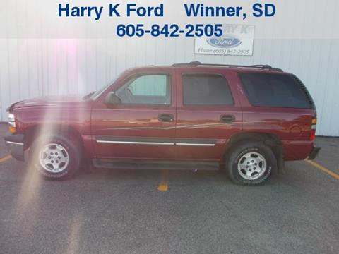 2004 Chevrolet Tahoe for sale in Oacoma, SD
