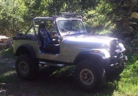 1986 Jeep CJ-7 for sale in Calabasas, CA