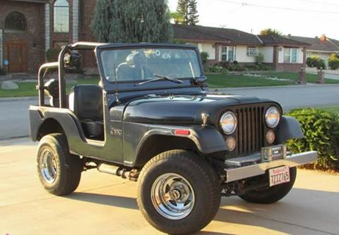 1974 Jeep CJ-5 for sale in Calabasas, CA