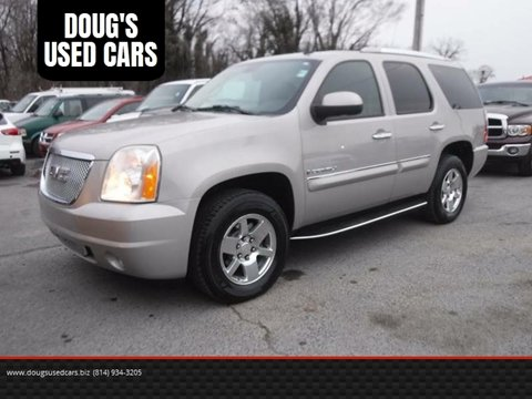 2007 GMC Yukon XL for sale at DOUG'S USED CARS in East Freedom PA