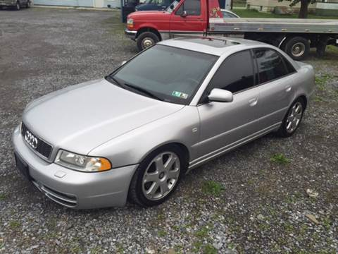 2001 Audi S4 for sale at DOUG'S USED CARS in East Freedom PA