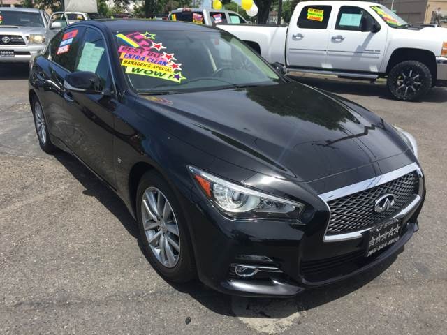2015 Infiniti Q50 for sale at 5 Star Auto Sales in Modesto CA