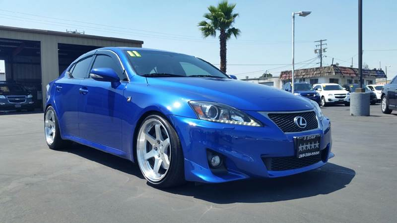 2011 Lexus IS 350 for sale at 5 Star Auto Sales in Modesto CA