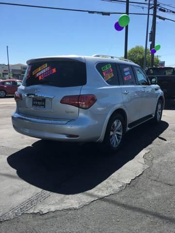 2015 Infiniti QX80 for sale at 5 Star Auto Sales in Modesto CA