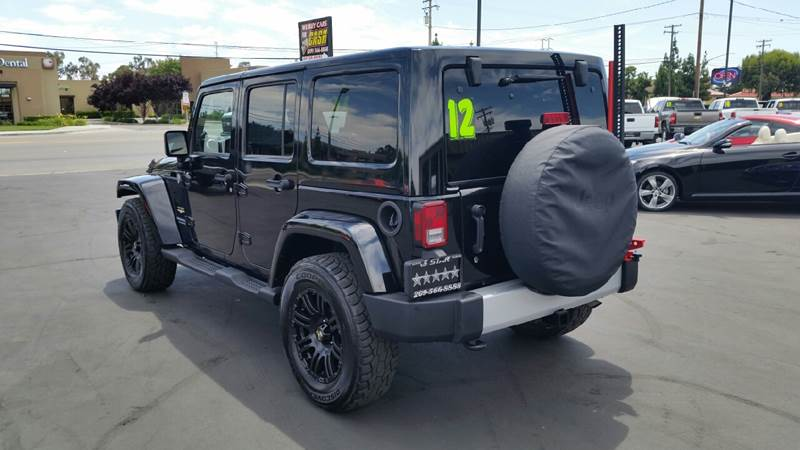 2012 Jeep Wrangler Unlimited for sale at 5 Star Auto Sales in Modesto CA