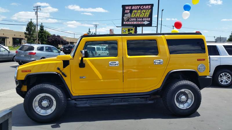 2003 HUMMER H2 for sale at 5 Star Auto Sales in Modesto CA