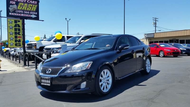 2010 Lexus IS 250 for sale at 5 Star Auto Sales in Modesto CA