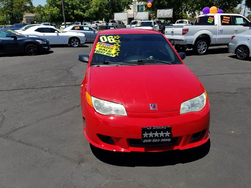 2006 Saturn Ion Red Line for sale at 5 Star Auto Sales in Modesto CA