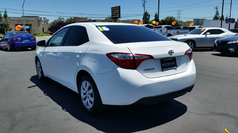 2016 Toyota Corolla for sale at 5 Star Auto Sales in Modesto CA
