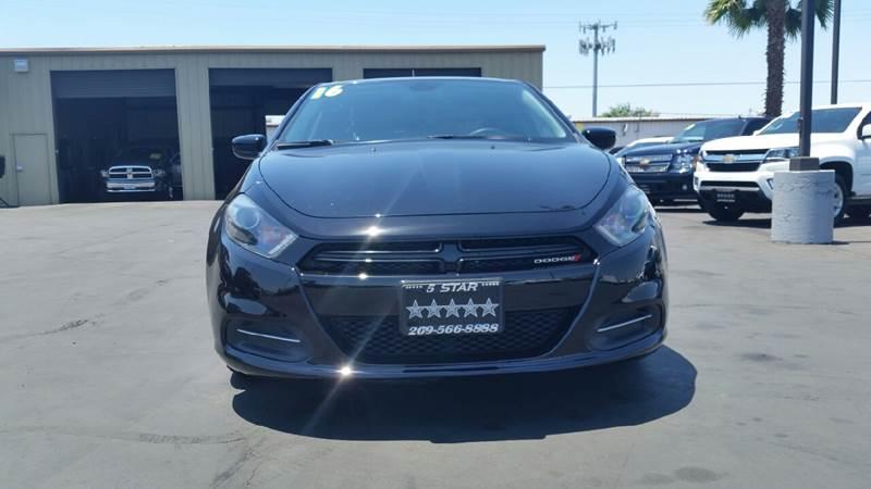 2016 Dodge Dart for sale at 5 Star Auto Sales in Modesto CA