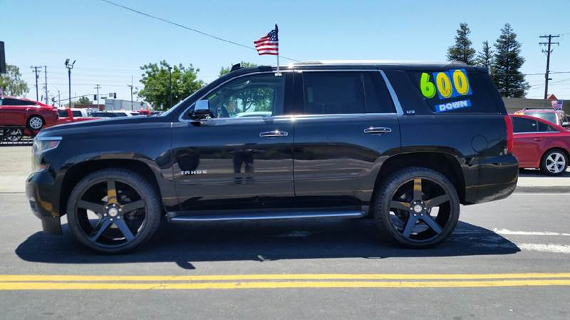 2015 Chevrolet Tahoe for sale at 5 Star Auto Sales in Modesto CA